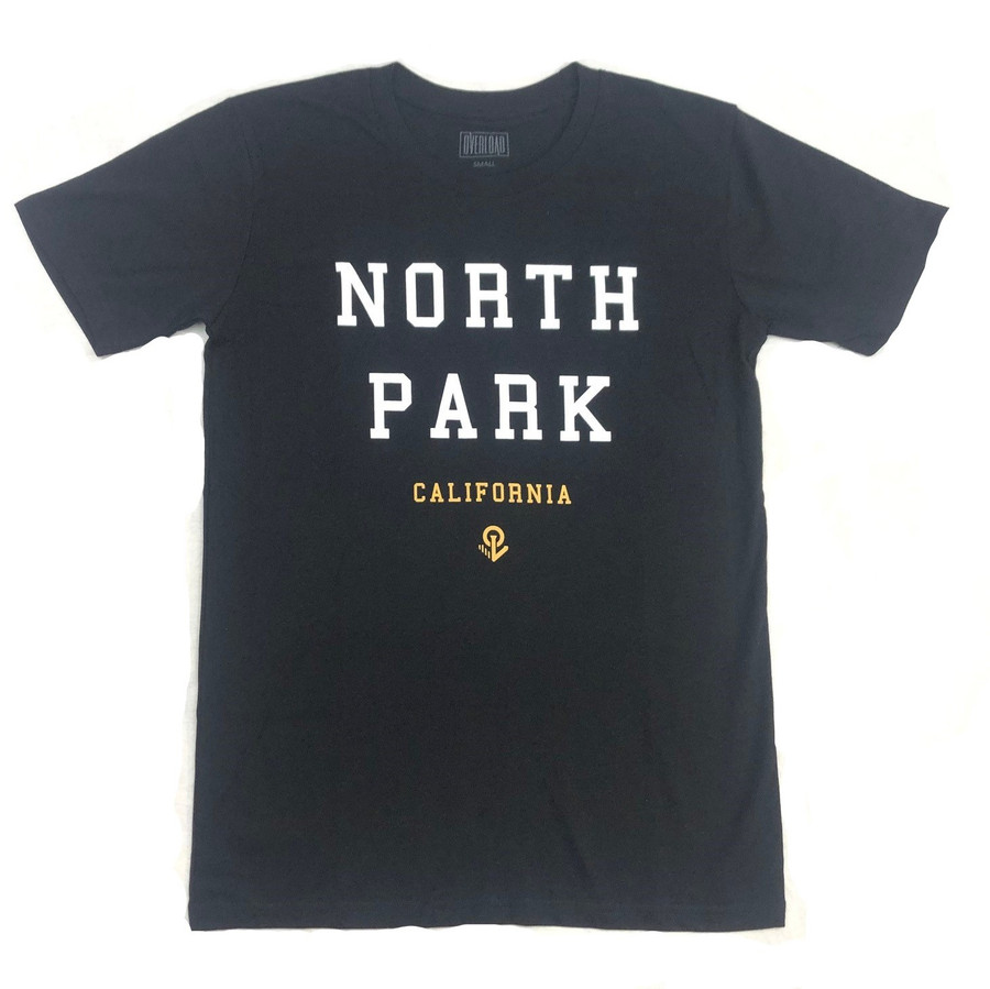 Overload - T-Shirt - North Park - Black/White/Gold