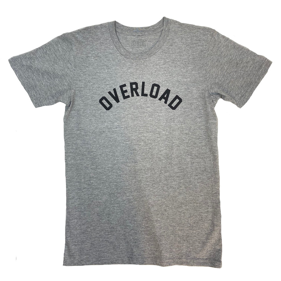 Overload - T-Shirt - Arched Tee - Athletic Heather