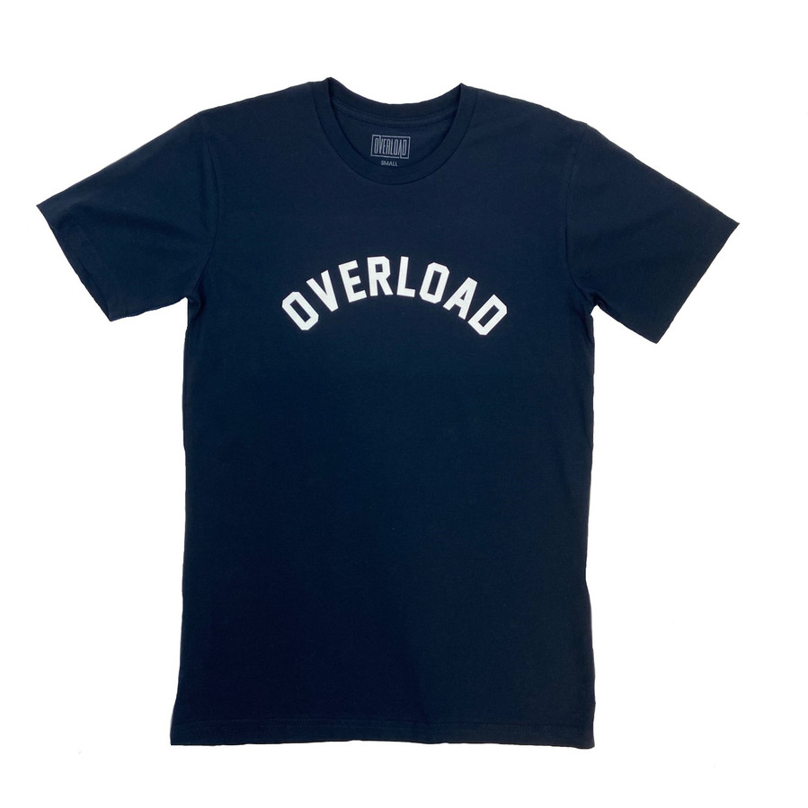Overload  - T-Shirt - Arched Tee - Navy
