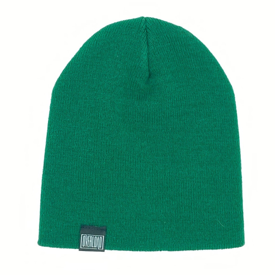 Overload - Beanie - Classic Knit - Spruce Green