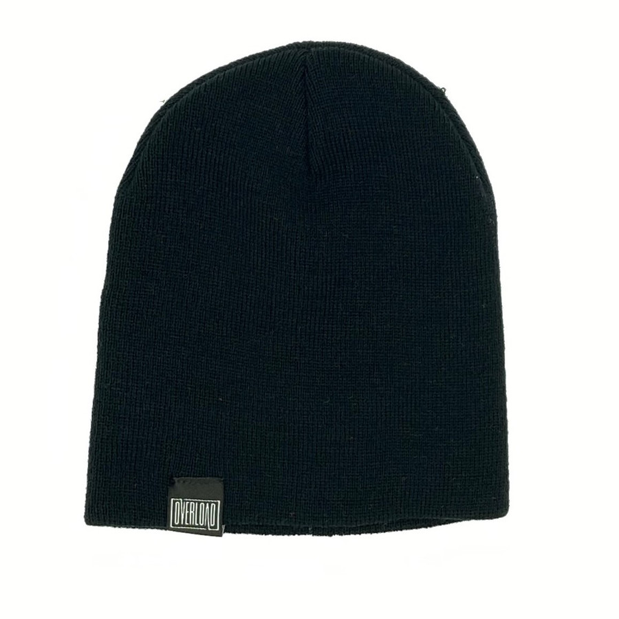 Overload - Beanie - Classic Knit - Black