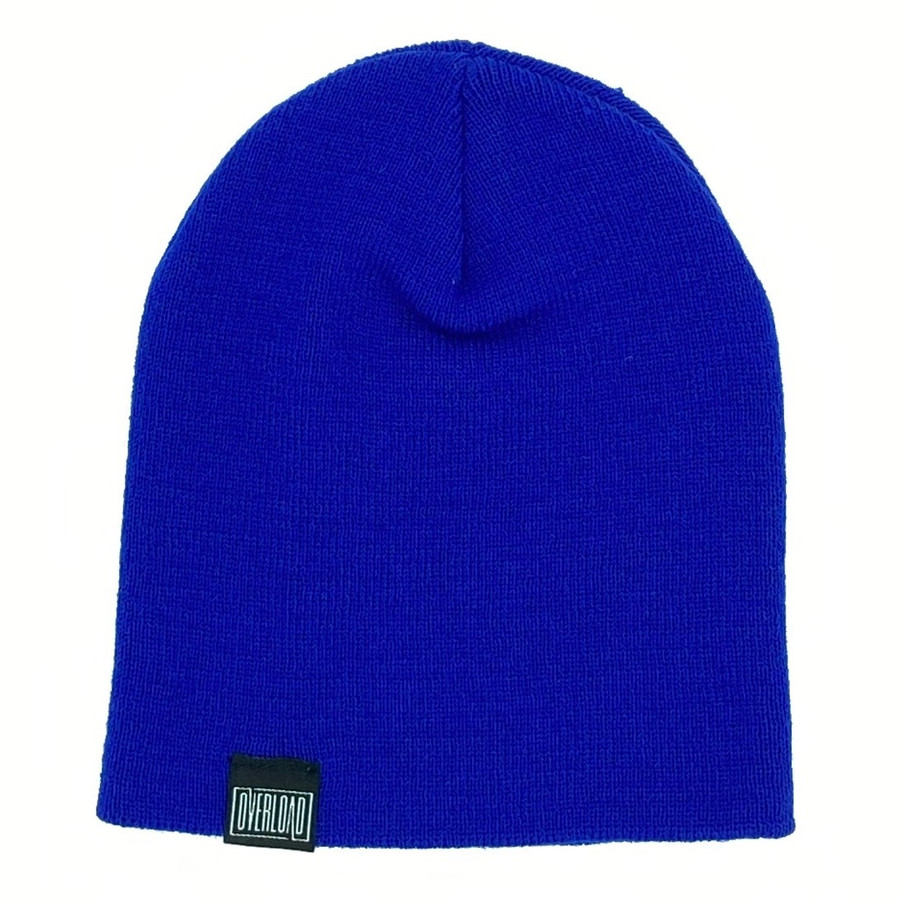 Overload - Beanie - Classic Knit - Royal Blue