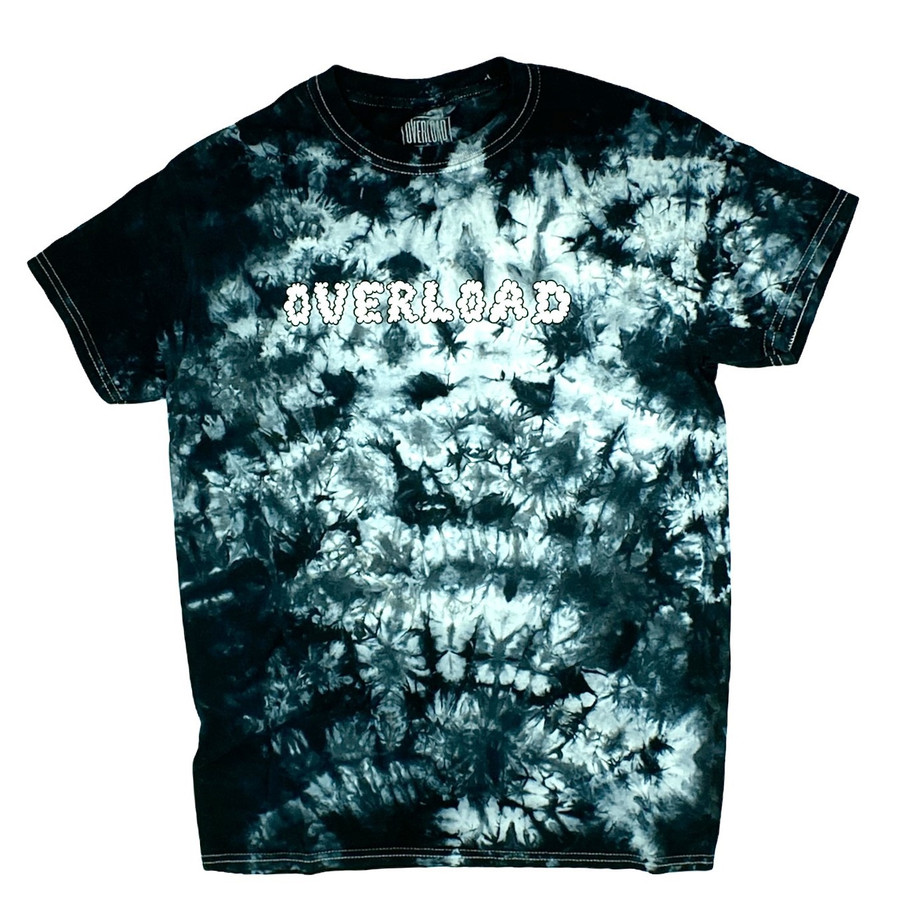 Overload - Smoked Out - Tee - Blk / Tie Dye