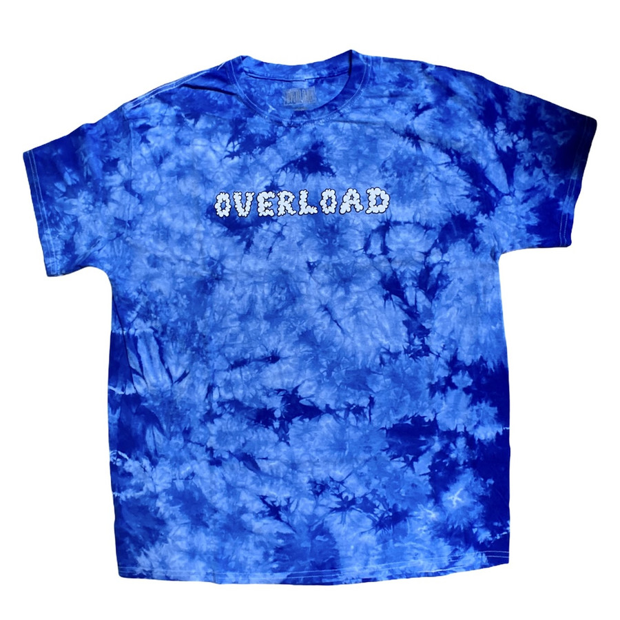Overload - Smoked Out - Tee - Royal / Tie Dye