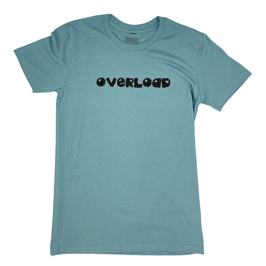 Overload - Stars - Tee - Pale Blue