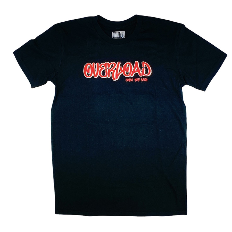 Overload - Tag Since Way Back - Black - Tee