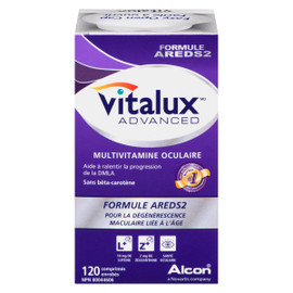 Vitalux Advanced Multivitamine Oculaire 120 Comprimés Enrobés