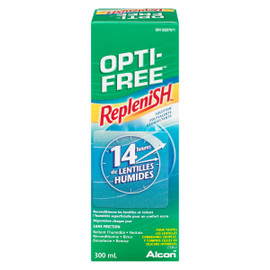 Opti-Free Replenish Solution Polyvalente Désinfectante 300 ml