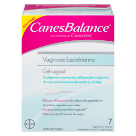 Canesbalance Gel Vaginal Vaginose Bactérienne 7 Applicateurs Internes x 5 ml