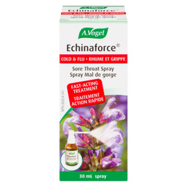 A.Vogel Echinaforce Spray Mal de Gorge Rhume et Grippe 30 ml