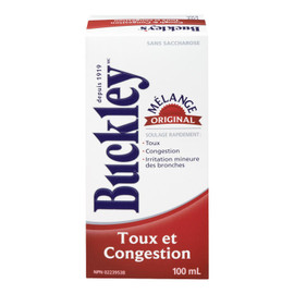 Buckley Mélange Original Toux et Congestion 100 ml