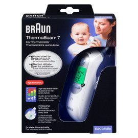 Braun ThermoScan 7 Thermomètre Auriculaire