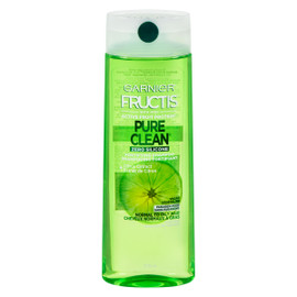Garnier Fructis Pure Clean Shampooing Fortifiant Cheveux Normaux à Gras Zero Silicone 370 ml