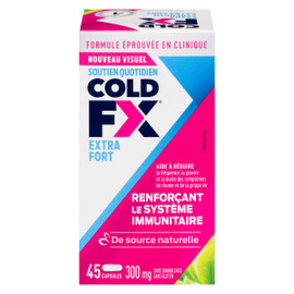 Cold FX Soutien Quotidien Extra Fort 300 mg 45 Capsules
