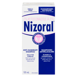 Nizoral Shampooing Antipelliculaire 120 ml