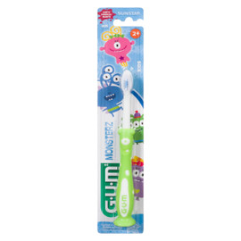 G.U.M Monsterz Souple Kids 2+ 1 Brosse a Dents