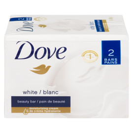 Dove Pain de Beauté Blanc 2 Pains x 106 g