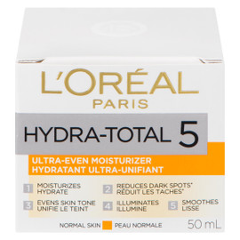L'Oréal Paris Hydra-Total 5 Hydratant Ultra-Unifiant Peau Normale 50 ml