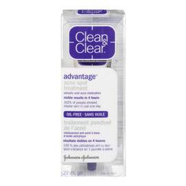 Clean & Clear Advantage Gel Traitement Ponctuel de l'Acné 22 ml