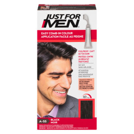 Just for Men Ensemble à Application Unique Application Facile au Peigne Noir A-55 35 g