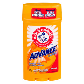 Arm & Hammer Advance Antisudorifique Invisible en Bâton Sport 73 g