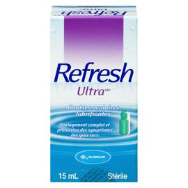 Refresh Ultra Gouttes Oculaires Lubrifiantes 15 ml
