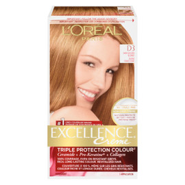 L'Oréal Paris Excellence Creme Triple Protection Colour Permanent D3 Blond Foncé Doré
