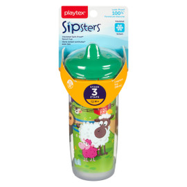 Playtex Sipsters Verre Isolant Antifuites avec Bec Étape 3 12 M+ (266 ml)