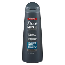 Dove Men+Care Shampooing + Revitalisant Fortifiant 355 ml