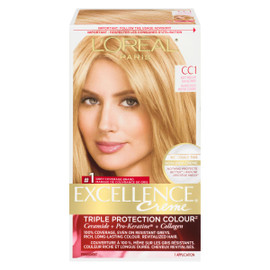 L'Oréal Paris Excellence Creme Triple Protection Colour Permanent CC1 Blond Doux Moyen Cendré