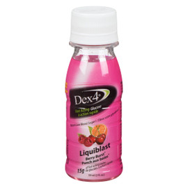 Dex4 Glucose à Action Rapide Liquiblast Punch aux Baies 59 ml