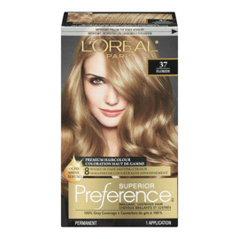 L'Oréal Paris Superior Preference Coloration Haut de Gamme Permanent 37 Floride Blond Doré