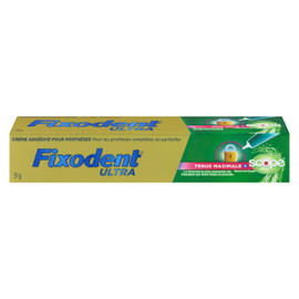 Fixodent Ultra Creme Adhesive Protheses Tenue Maximale SCOPE