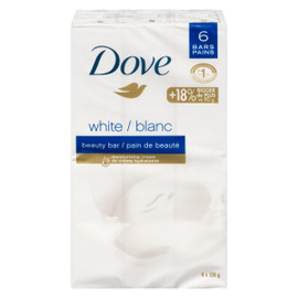 Dove Pain de Beauté Blanc 6 Pains x 106 g