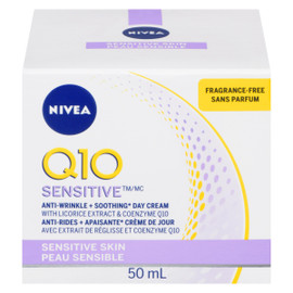 NIVEA Q10 Hydratant Power Anti-Rides + Sans Parfum 50 ml