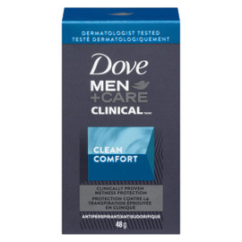 Dove Men+Care Clinical Antisudorifique le Propre du Confort 48 g