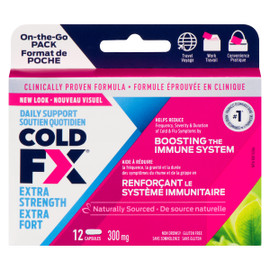 Cold FX Soutien Quotidien Extra Fort 300 mg 12 Capsules