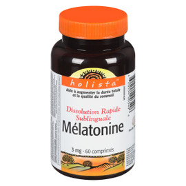 Holista Mélatonine 3 mg 60 Comprimés