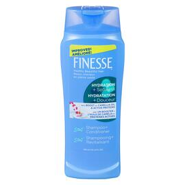 Finesse 2in1 Shampooing + Revitalisant Hydratation + Douceur 300 ml