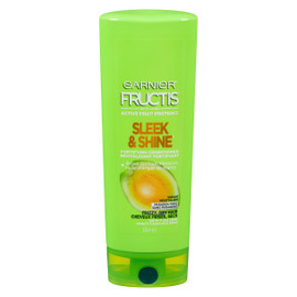 Garnier Fructis Sleek & Shine Revitalisant Fortifiant Cheveux Frisés, Secs 354 ml