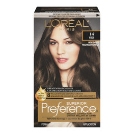 L'Oréal Paris Superior Preference Coloration Haut de Gamme Permanent 14 Paris Châtain Naturel Cendré