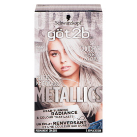 Göt2b Metallics Permanent Colour M71 Metallic Silver