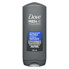 Dove Men+Care Gel Douche Corps + Visage Hydra-Équilibre 400 ml
