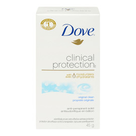 Dove Clinical Protection Antisudorifique en Bâton Propreté Originale 45 g