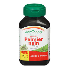 Jamieson Prostease Palmier Nain Herbe Brute 1 000 mg 30+30 Gélules