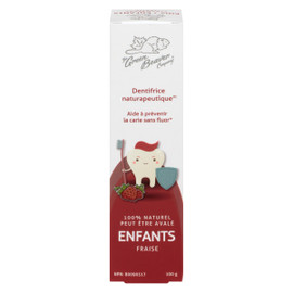 The Green Beaver Company Dentifrice Naturapeutique Enfants Fraise 100 g