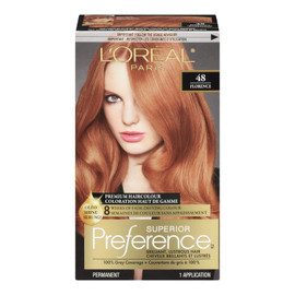 L'Oréal Paris Superior Preference Coloration Haut de Gamme Permanent 48 Florence Blond Cuivré