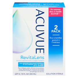 Acuvue Solution Désinfectante à Usages Multiples 2 Pack 300 ml