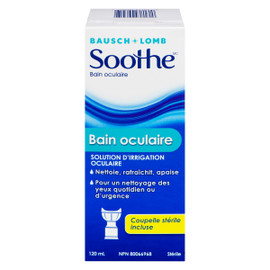 Bausch & Lomb Soothe Bain Oculaire 120 ml