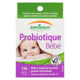 Jamieson Essentials Probiotique Bébé 126 Gouttes 8.6 ml